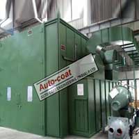 Dry Back Downdraft Paint Booth